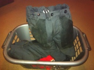The trousers that walk right out of the laundry basket